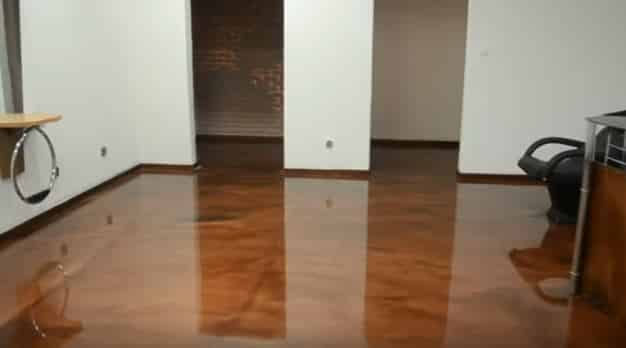 Concrete Services - Epoxy Flooring Glass